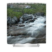 Alaskan Stream Shower Curtain