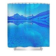 Alaskan Winter Night By Adam Asar 3 Shower Curtain