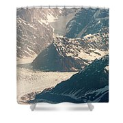 Alasks Glacier Range Denali Nation Park  Shower Curtain
