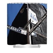 Albany And Washington Shower Curtain
