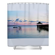 Outer Banks,nc,sunset Shower Curtain