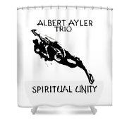 Albert Ayler Trio Shower Curtain