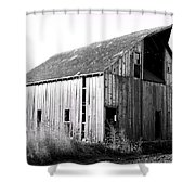 Albert City Barn 3 Shower Curtain