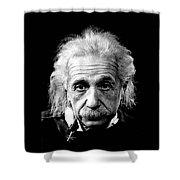 Albert Einstein Circa 1952 Shower Curtain