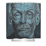 Albert Fish Shower Curtain