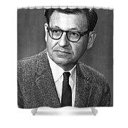 Albert Ghiorso, American Nuclear Chemist Shower Curtain