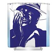 Albert King Shower Curtain