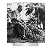 Albert Schweitzer Shower Curtain