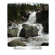 Alberta Falls Rmnp Shower Curtain