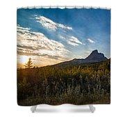 Alberta Sunrise Shower Curtain