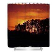 Alberta Sunset Shower Curtain