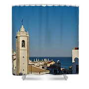 Albufeira Streets Shower Curtain