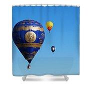 Albuquerque Balloon Festival 4 Shower Curtain