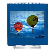 Albuquerque Balloon Festival Shower Curtain