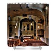 Albuquerque Church Shower Curtain