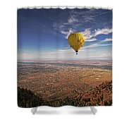 Albuquerque Flight Shower Curtain