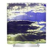 Albuquerque Sky Shower Curtain