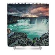 Alca000001 Shower Curtain