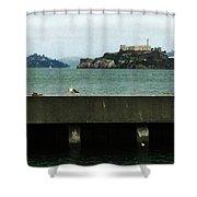 Alcatraz Shower Curtain