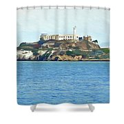 Alcatraz Shower Curtain