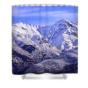 Alcazaba 3315 Meters And Vacares Shower Curtain