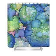 Alcohol Ink #2 Shower Curtain