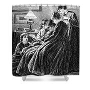 Alcott: Little Women Shower Curtain