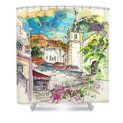 Alcoutim In Portugal 02 Shower Curtain