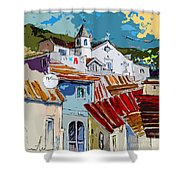 Alcoutim In Portugal 08 Bis Shower Curtain
