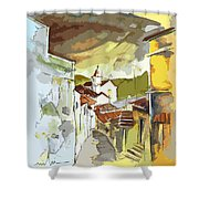 Alcoutim Portugal 06 Bis Shower Curtain