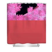 Alcyonarian Coral Shower Curtain
