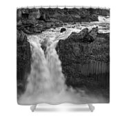 Aldeyjarfoss Waterfall Iceland 3353 Shower Curtain