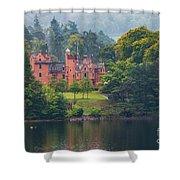 Aldourie Castle  Shower Curtain