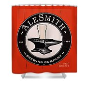 Alesmith Sign, Newport R. I. Shower Curtain