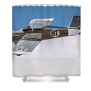 Alex Alverez Friday Morning At Reno Air Race Signature Edition 16x9 Aspect Shower Curtain