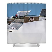 Alex Alverez Friday Morning At Reno Air Races 16x9 Aspect Shower Curtain
