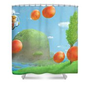 Alex Kidd In Miracle World Shower Curtain