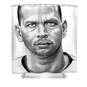 Alex Rodrigues Shower Curtain