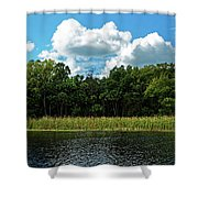 Alexander Creek Shower Curtain