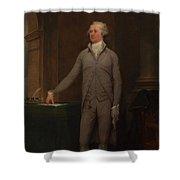 Alexander Hamilton Full-length Portrait Shower Curtain