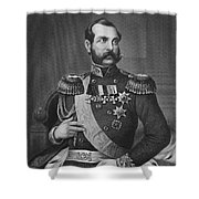 Alexander II (1818-1881) Shower Curtain by Granger