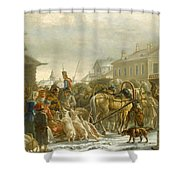 Alexander Osipovich Shower Curtain