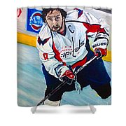 Alexander Ovechkin Shower Curtain