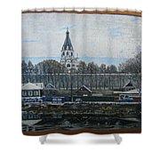 Alexandrov Sloboda Museum View Shower Curtain