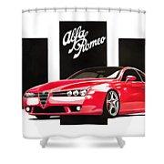 Alfa Romeo Brera Shower Curtain