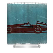Alfa Romeo Tipo 159 Gp Shower Curtain by Naxart Studio