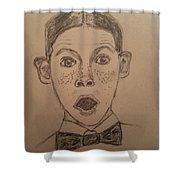 Alfalfa Shower Curtain