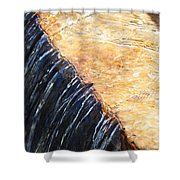 Alfred Caldwell Lily Pool Waterfall Shower Curtain