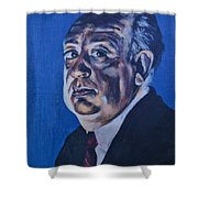 Alfred Hitchcock Shower Curtain