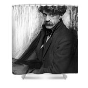Alfred Stieglitz (1864-1946) Shower Curtain
